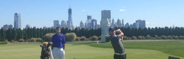 Rory McIlroy in New York City, Liberty National