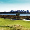 Liberty National Golf Course and the Manhatten Skyline