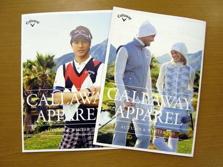 Ryo Ishikawa for Callaway Apparel, Autumn and Winter 2013