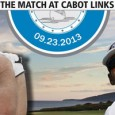 Graeme McDowell and Graham DeLaet at The Match at Cabot Links, Inverness, Nova Scotia
