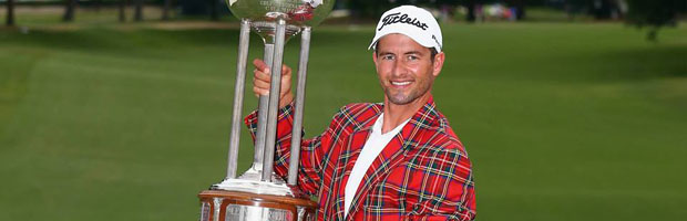 Adam Scott Wins Crowne Plaza Invitational - Eighteen Under ParEighteen Under Par
