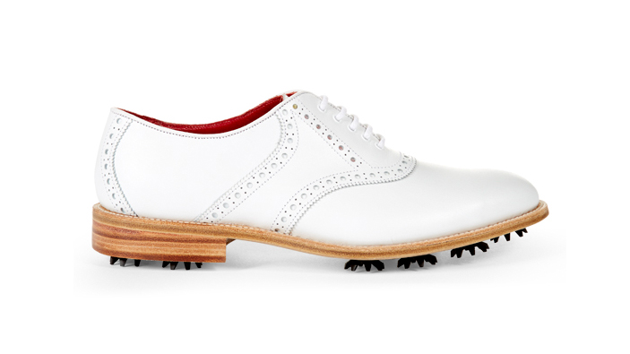 Wolsey x Trickers Leather Golf Shoe