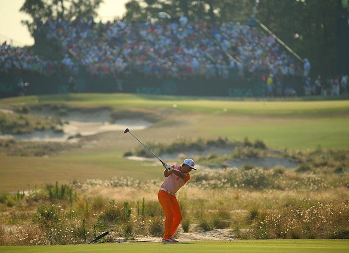 Rickie Fowler us Open 2014