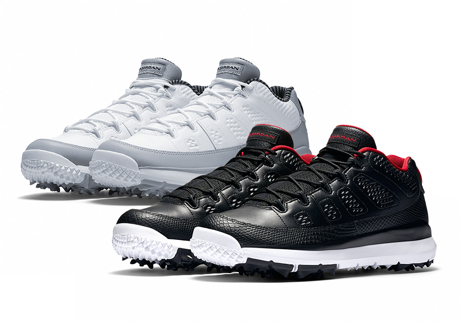 new products bd302 4c6ad Air Jordan IX Retro Low Golf Shoes - Eighteen Under ...