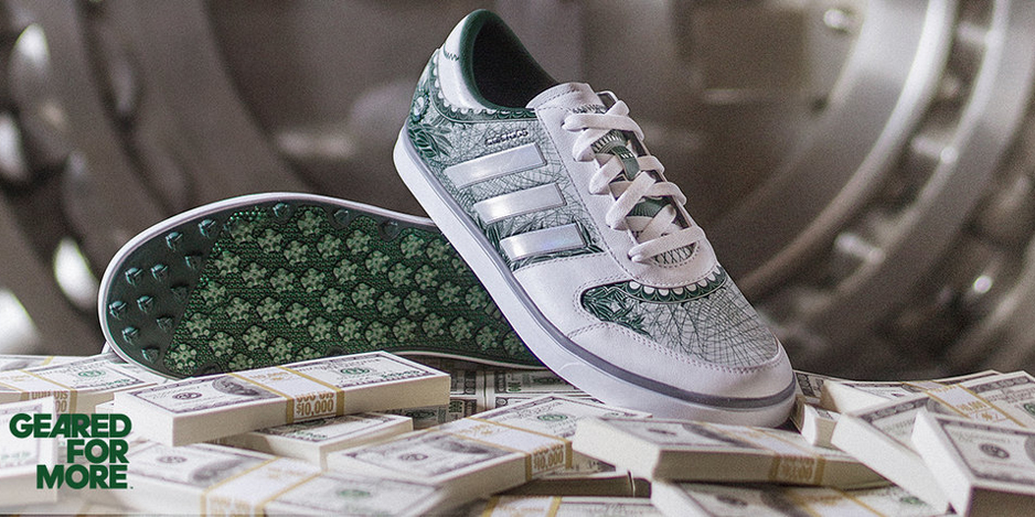 Adidas Golf: AdiCross Gripmore Big Check Edition