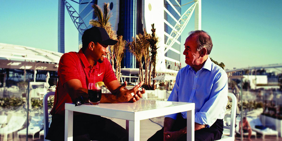 Vision Magazine With Tiger Woods