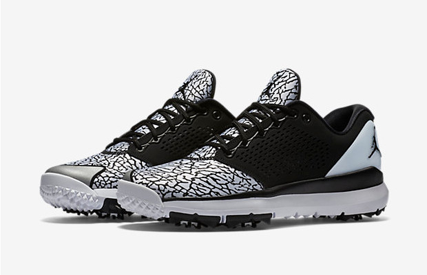 c61701508cb Today, Jordan Brand and Nike Golf introduce the Jordan Trainer ST Golf.  It's an athletic golf shoe that has design elements from legendary  basketball shoes.